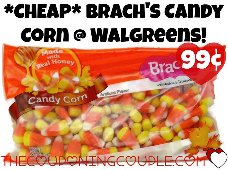 *CHEAP* Brach's Candy Corn Just $0.99 at Walgreens thru 10/10! Hurry over and see how you can score this great deal!  Click the link below to get all of the details ► http://www.thecouponingcouple.com/cheap-brachs-candy-corn-just-0-99-at-walgreens-thru-1010/ #Coupons #Couponing #CouponCommunity  Visit us at http://www.thecouponingcouple.com for more great posts!