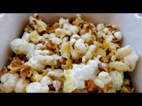 HOW TO MAKE SWEET & SALTY POPCORN - YouTube