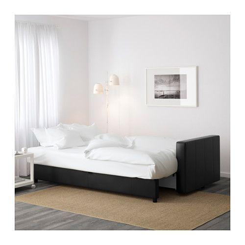FRIHETEN Sleeper sofa - Bomstad black - IKEA
