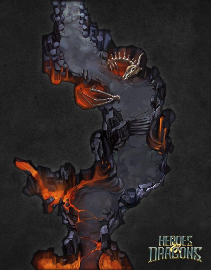 ArtStation - Heroes & Dragons Maps II, Laurence Viollet