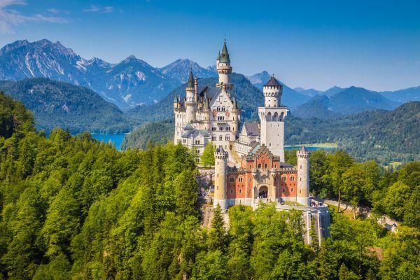 Najromantickejšie zámky: Tipy na najkrajšie výlety s vašou láskou   Diva.sk  Neuschwanstein, Nemecko