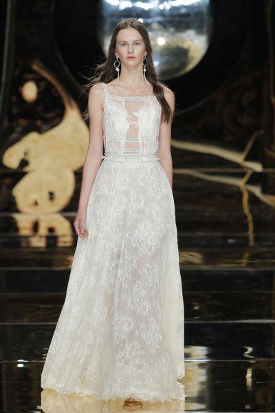 Vestidos de novia escote cuadrado 2017: Diseños que nunca pasan de moda Image: 13