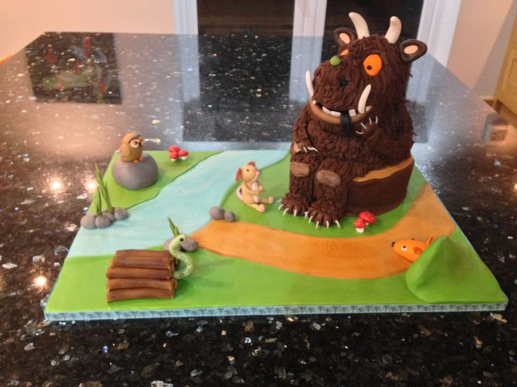 The Gruffalo Cake - entered into the Cake International Competition at the NEC November 2016. I got a merit