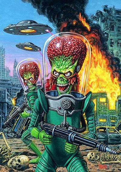 Mars Attacks - Again! We Reveal 7 Cards From the New Occupation ...