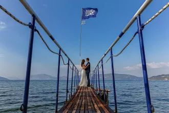 The bridge of our hapiness - Best destination ever - Kefalonia -  http://www.kefaloniawedding.com/ #weddingingreece #ionianislands #kefalonia #mythosweddings