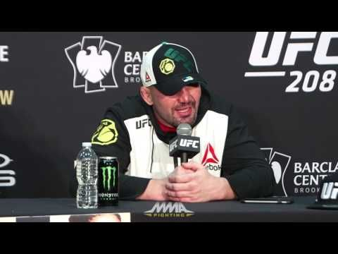UFC 208 Post-Fight Press Conference: Glover Teixeira, Jacare Souza