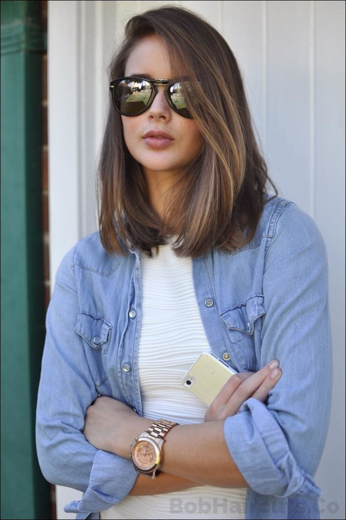 Bob Haircuts 2014 LOB Long Bob Haircuts 2014 Shoulder Length Hair ...