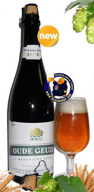 Horal Oude Geuze Megablend 2015 7°  Available at http://store.belgianshop.com/home/1581-horal-oude-geuze-megablend-2015-7-34l.html   The Toer de Geuze was organised for the first time in 1997. Boon, De Cam, De Troch, 3 Fonteinen, Lindemans and Timmermans opened their doors for the public. Since then the open brewery day of the Payottenland .....