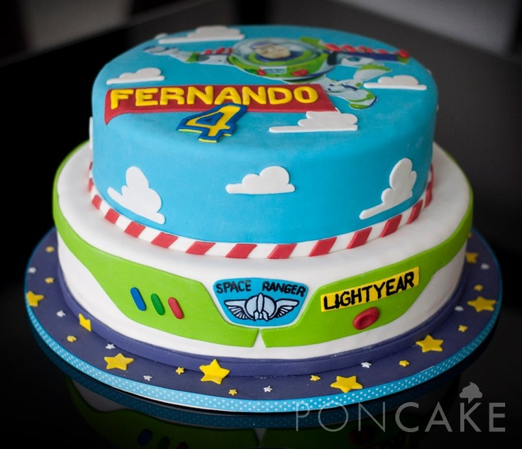 Buzz Lightyear Cake - Torta de Buzz Lightyear
