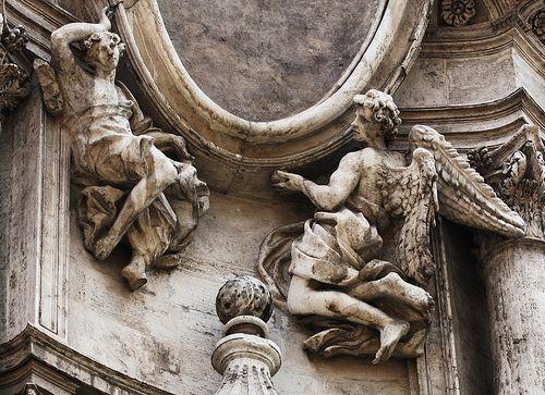 Borromini san carlo alle quattro fontane rome a close up for Churches of baroque period