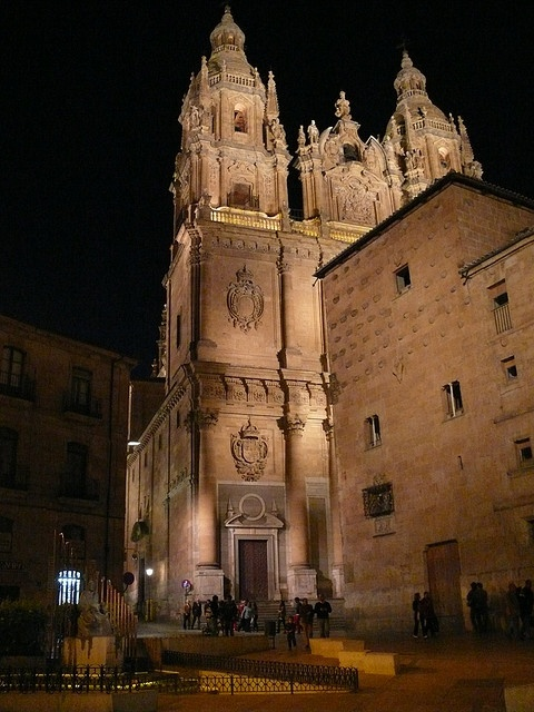 Salamanca  by night Spain