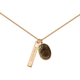 Collier et pendentif Nina Ricci Gourmette, Collier et pendentif Plaqué Or - Femme 70199730116