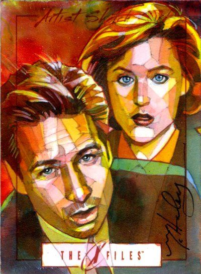 Mulder & Scully by Mark McHaley