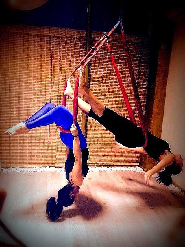 swing partners yoga