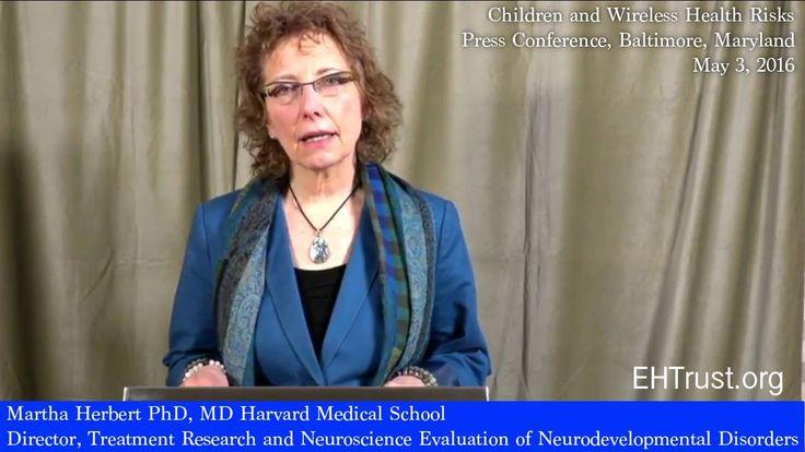 Harvard Pediatric Neurologist on Electromagnetic Radiation, Autism and B...