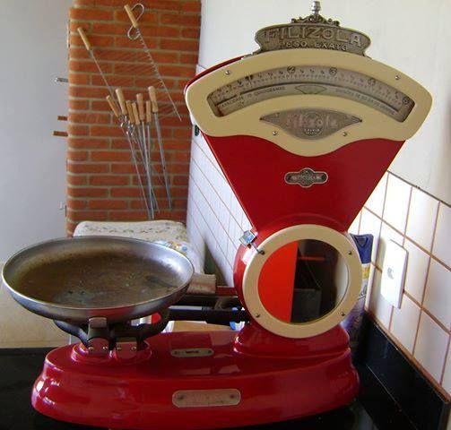 Era tão comum essas balanças da Filizola nos anos 60 e 70 como são os computadores nos supermercados