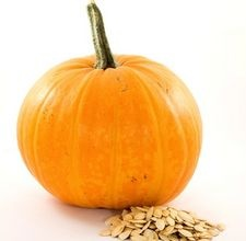 Make your own Pumpkin Peel.  http://naturalskinrescue.com/blog/pumpkin_peel/