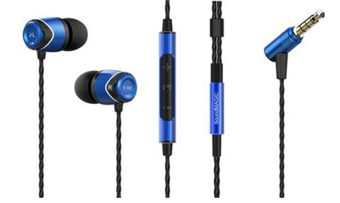 Słuchawki dokanałowe SoundMAGIC E10C Black-Blue | Słuchawki \ Douszne PREZENTY \ do 300 zł | Sprzet-Dyskotekowy.pl - największy i najtańszy sklep internetowy z oświetleniem i nagłośnieniem w Polsce