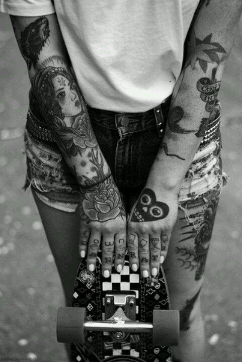 #tatoo#tatouage#skate