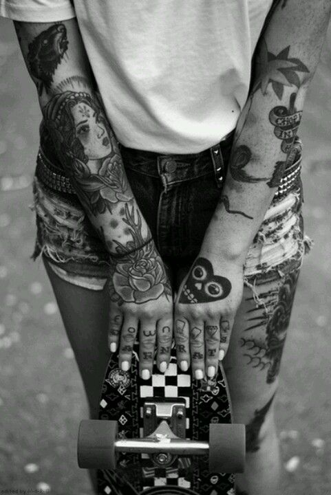 skate & look good while doing it! http://www.creativeboysclub.com/wall/creative