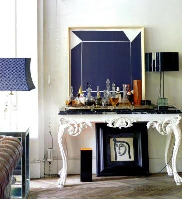 Lovely: Console, Lazaro Rosa Violan, Art, Living Room, Bar, Interiors Decor, Eclectic Interiors