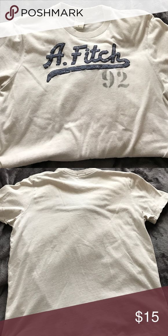 Abercrombie and Fitch T-Shirt Size Large Abercrombie and Fitch-Shirt. Still in good condition. Shirts Tees - Short Sleeve