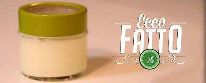 Come fare il deodorante fai da te in crema al burro di karitè. Ecco fatto | Video Il Fatto Quotidiano TV