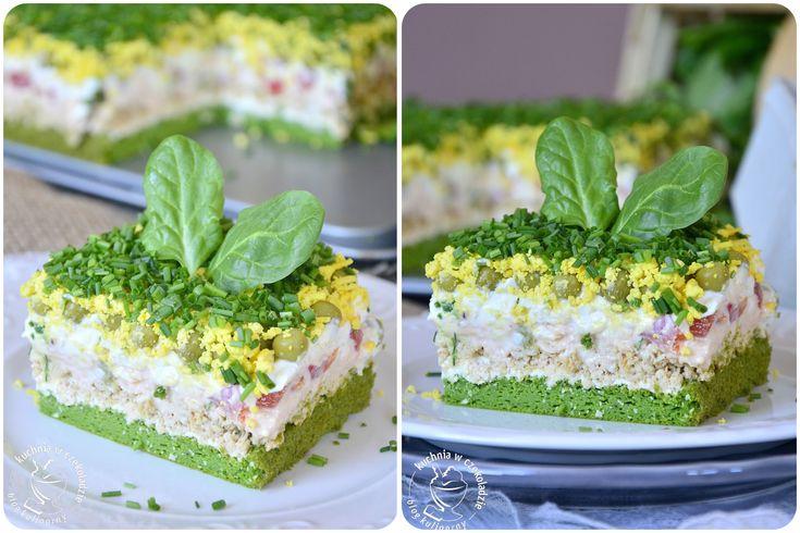 Салатний торт : Ням ням за 5 хвилин