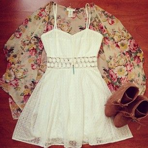 I love the idea of this outfit! I would switch the heels for combat boots or sandals but everything else is great!