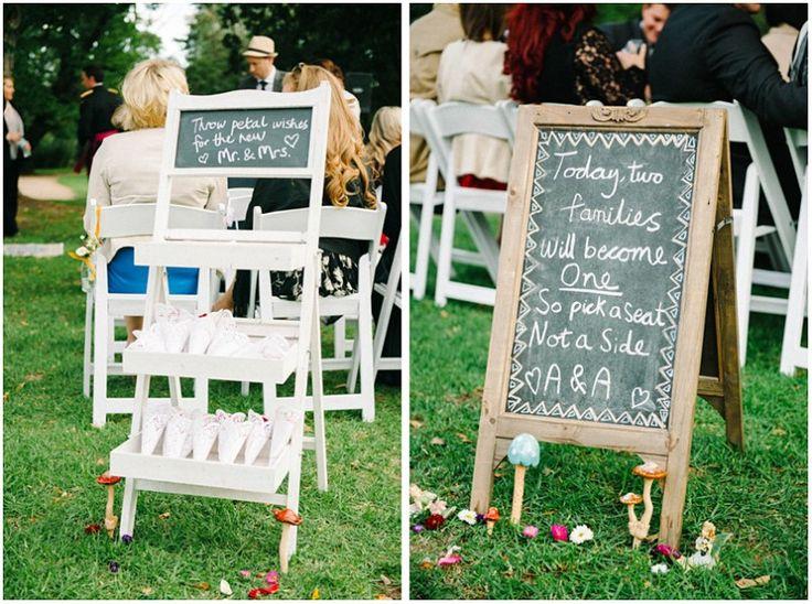 Chalkboard wedding details Wedding Styling by Make Your Day joseph_koprek_ripponlea_wedding_quat_quatta011