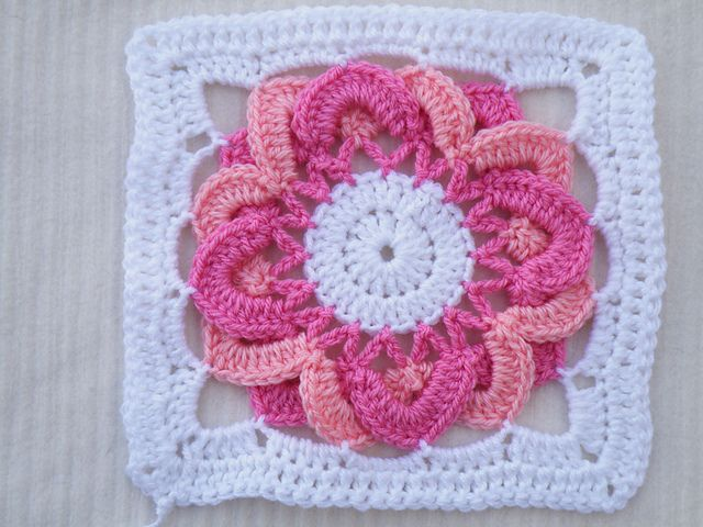 120 Best Crochet Square Ideas Images On Pinterest Crochet Granny