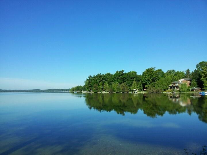 Bass Lake, Orillia Ontario Canada