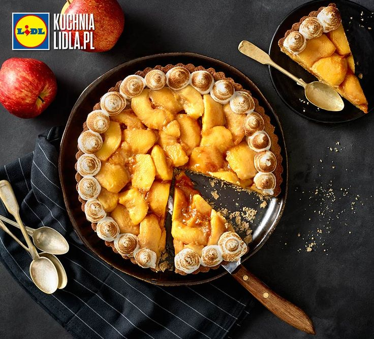 Tarta jabłkowo-waniliowa. Kuchnia Lidla - Lidl Polska. #pawelmalecki #tarta #jablka #wanilia