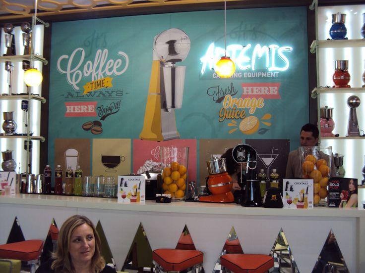ARTEMIS MIXER bar in HOST 2013, Milano