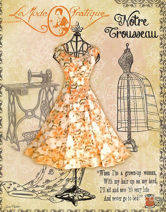 I uploaded new artwork to plout-gallery.artistwebsites.com! - 'French Dress Shop-C' - http://plout-gallery.artistwebsites.com/featured/french-dress-shop-c-jean-plout.html via @fineartamerica