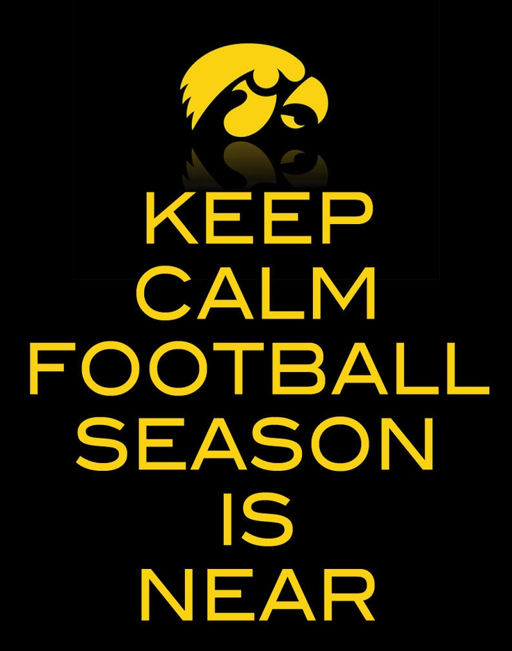 Keep Calm Football Season Sign