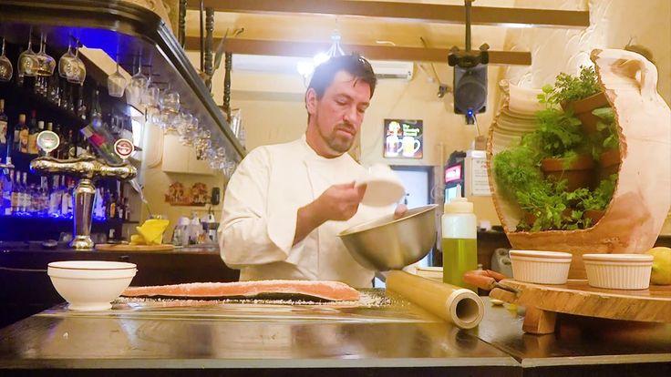 Маринованный лосось от Ленивого повара