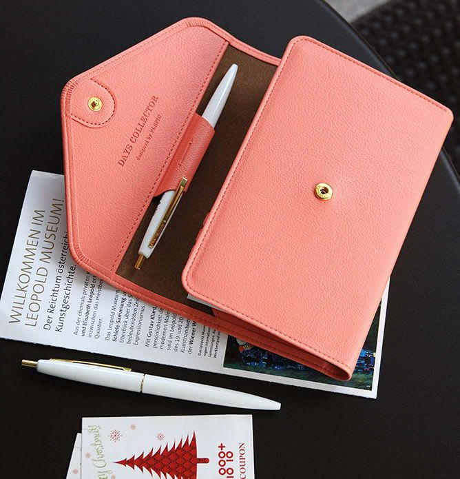 The *Leather Diary Wallet v1* is a very beautiful and uniquely designed dateless planner + wallet combo! The Leather Diary Wallet v1 duos as a planner and as well as a wallet! On the left side is the dateless planner containing a total of 208 page...