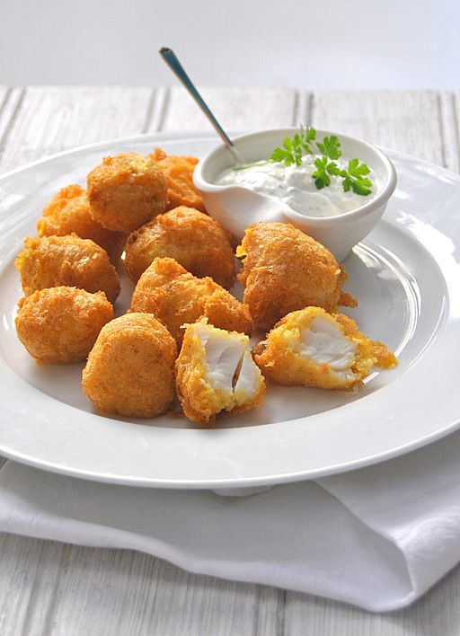 Cape-Style Spicy Beer-Battered Fish Bites