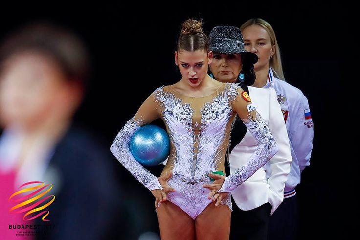 Aleksandra Soldatova (Russia), backstage European Championships 2017