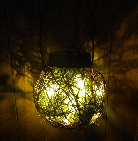 15 best images about light strands on Pinterest Large fan, Hanging lights and Chain link fence