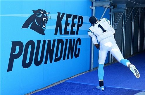 Cam Newton #KeepPounding