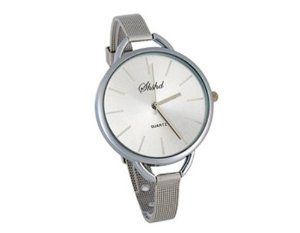 Tanboo Round Dial Alloy Case Slim Steel Band Women's Wrist Watch (White) by Tan Watches. $9.99. Sports Fan Watch. Watch. Gender:women's watchDisplay Type:analogMovement:electronic movementDial Shape:roundCase MaterialCase Diameter:alloy3.7 cmBand Material:steelBand ColorBand Length:silver23.7 cmBezel Color:silverBezel Material:alloyBezel Function:stationaryHands:an hour hand,a minute hand and a second handClaspBattery:buckle626
