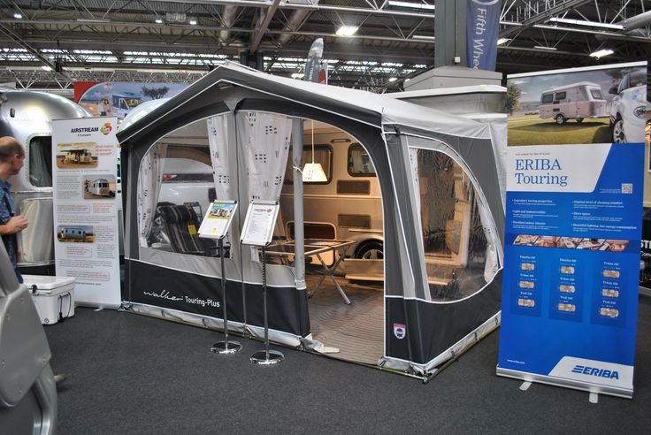 Glossop Awnings on Twitter: #Walker Awning on the #airstream stand t the #NEC