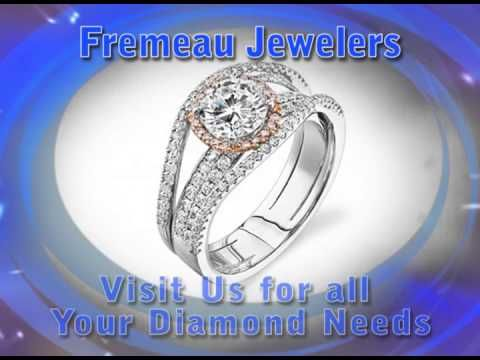 Burlington VT Diamond Rings | Fremeau Jewelers  Fremeau Jewelers extensive collection of designer jewelry including diamond rings and a diamond pendants will turn heads. Drop by 78 Church Street, Burlington VT 05401