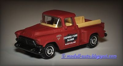 Modellautos Scale Model Cars: Matchbox Mattel 1957 GMC Stepside Truck 2015 Thailand from 5-Pack