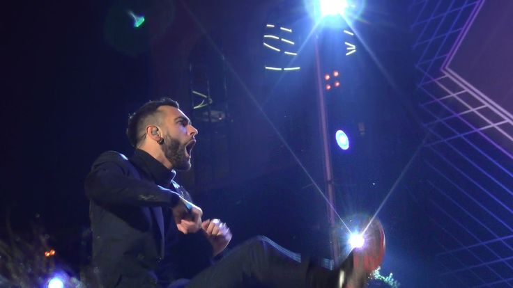 MARCO MENGONI - I GOT THE FEAR - MTV WORLD STAGE MILANO 24.10.2015