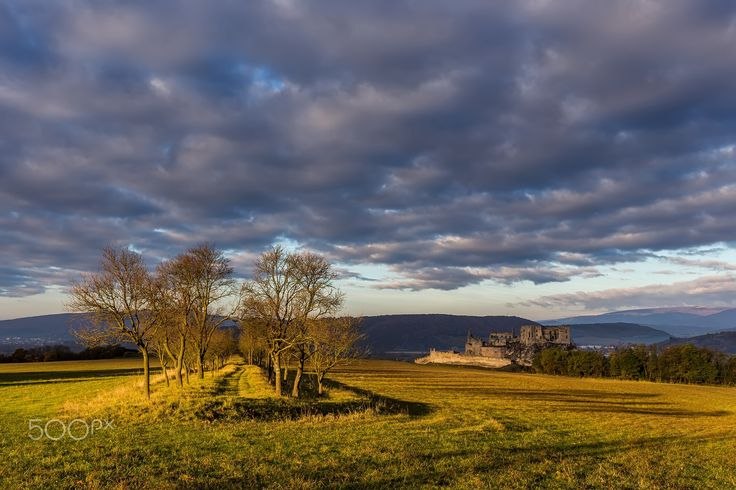 """Last october sunrise at Beckov castle - The last light below the clouds at this morning ... Follow me on <a href=""""https://www.facebook.com/lubosbalazovic.sk"""">FACEBOOK</a> or <a href=""""https://www.instagram.com/balazovic.lubos"""">INSTAGRAM</a>"""