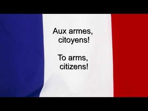 "HAPPY Bastille Day ~ ""La Marseillaise"" - France National anthem French & English lyrics"
