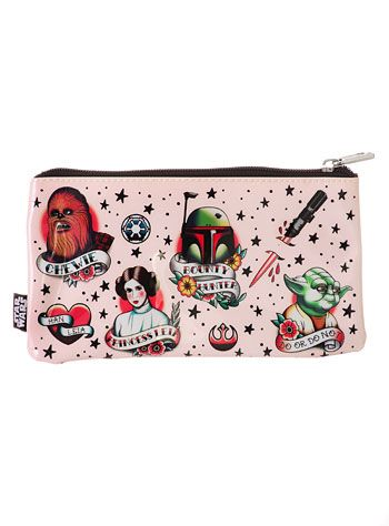 Star Wars Retro Tattoos Pencil Case at PLASTICLAND